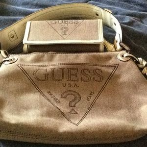 Guess bag with wallet   SOLD